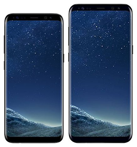 Smartphone Comparison: Samsung galaxy s8 vs Samsung galaxy s8 plus
