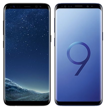 Smartphone Comparison: Samsung galaxy s8 vs Samsung galaxy s9