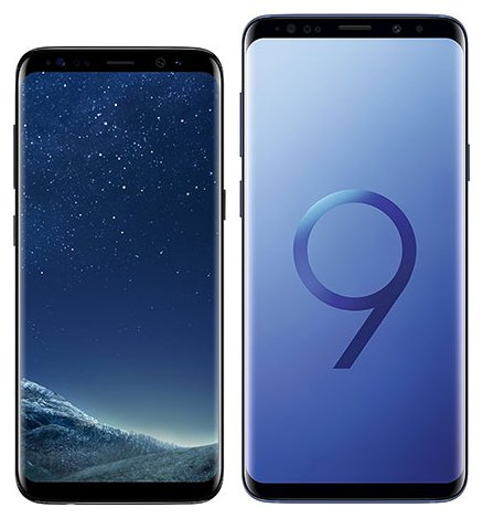 Smartphone Comparison: Samsung galaxy s8 vs Samsung galaxy s9 plus
