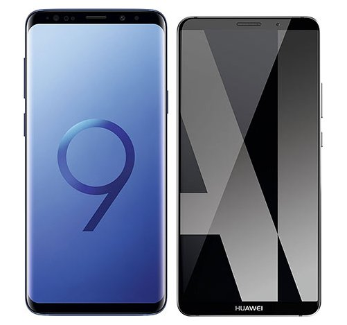Smartphonevergleich: Samsung galaxy s9 plus oder Huawei mate 10 pro