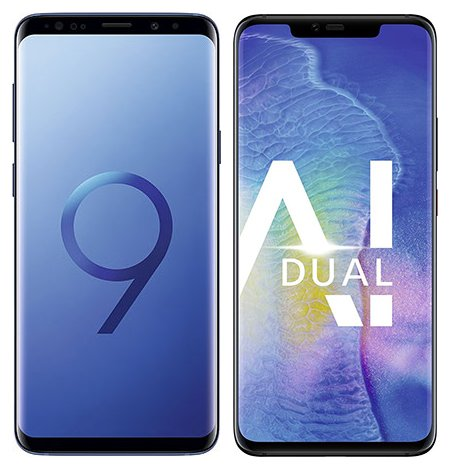 Smartphonevergleich: Samsung galaxy s9 plus oder Huawei mate 20 pro