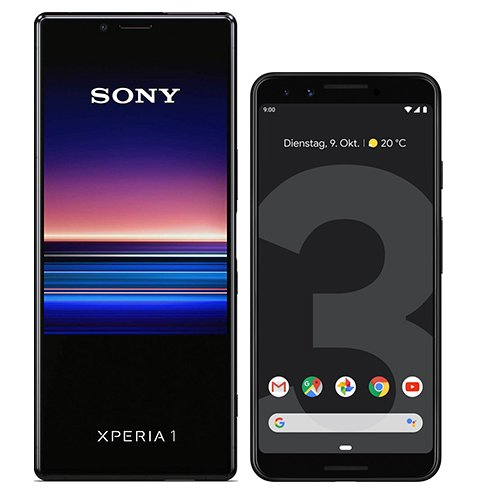 Smartphonevergleich: Sony xperia 1 oder Google pixel 3