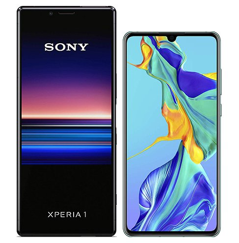 Smartphonevergleich: Sony xperia 1 oder Huawei p30