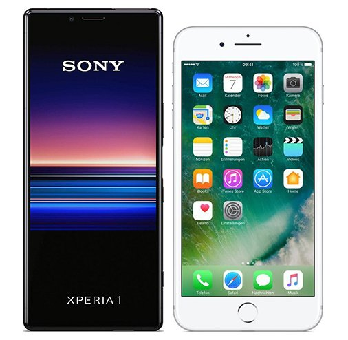 Smartphonevergleich: Sony xperia 1 oder Iphone 7 plus