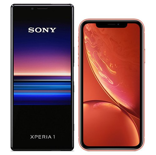 Smartphonevergleich: Sony xperia 1 oder Iphone xr