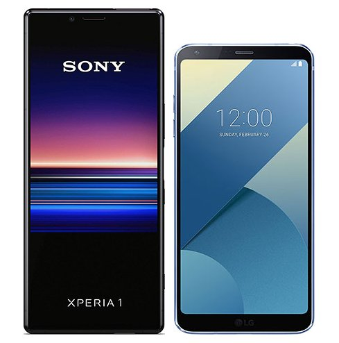 Smartphonevergleich: Sony xperia 1 oder Lg g6