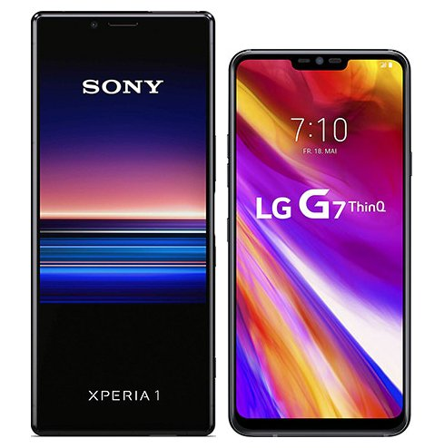 Smartphonevergleich: Sony xperia 1 oder Lg g7 thinq