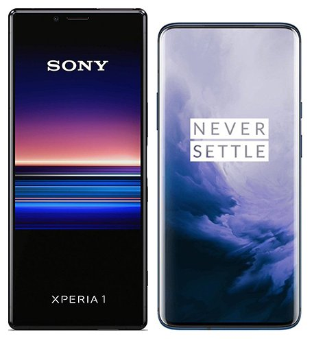 Smartphonevergleich: Sony xperia 1 oder One plus 7 pro