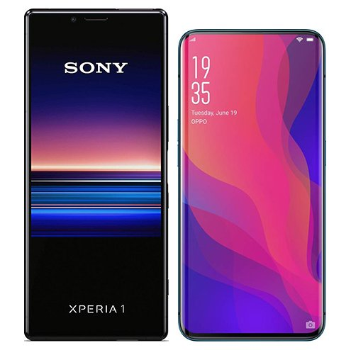 Smartphonevergleich: Sony xperia 1 oder Oppo find x