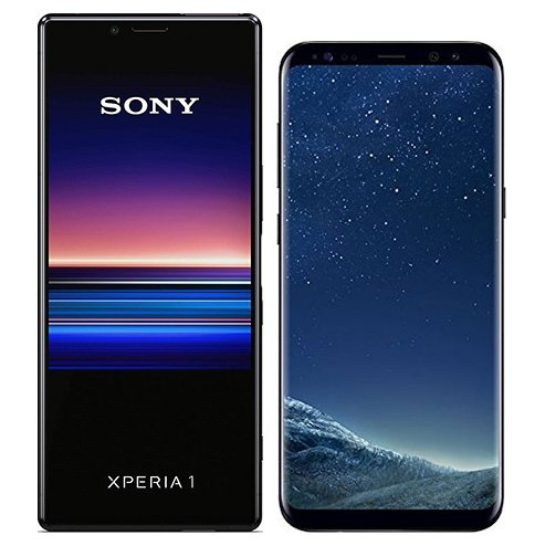 Smartphonevergleich: Sony xperia 1 oder Samsung galaxy s8 plus