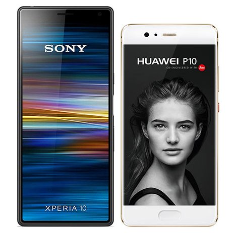 Smartphonevergleich: Sony xperia 10 oder Huawei p10