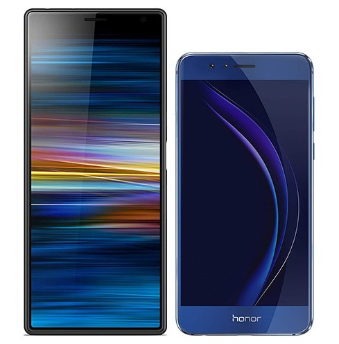 Smartphonevergleich: Sony xperia 10 plus oder Honor 8