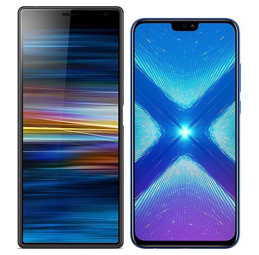 Smartphonevergleich: Sony xperia 10 plus oder Honor 8x