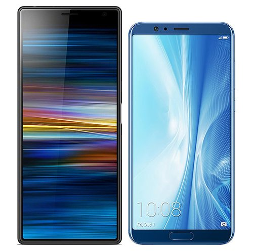 Smartphonevergleich: Sony xperia 10 plus oder Honor view 10