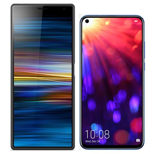 Smartphonevergleich: Sony xperia 10 plus oder Honor view 20