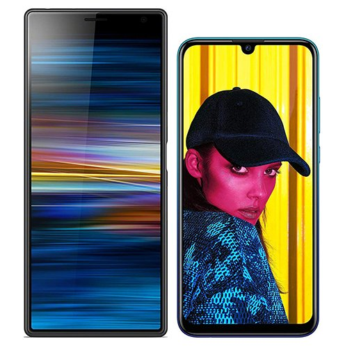 Smartphonevergleich: Sony xperia 10 plus oder Huawei p smart 2019