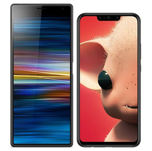 Smartphonevergleich: Sony xperia 10 plus oder Huawei p smart plus