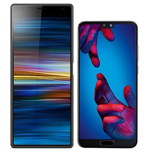 Smartphonevergleich: Sony xperia 10 plus oder Huawei p20