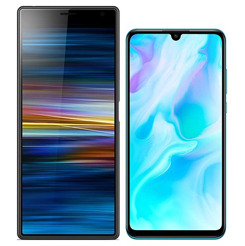Smartphonevergleich: Sony xperia 10 plus oder Huawei p30 lite