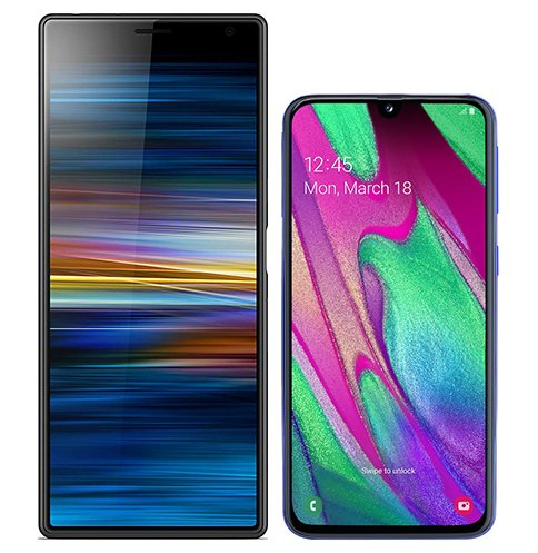 Smartphonevergleich: Sony xperia 10 plus oder Samsung galaxy a40