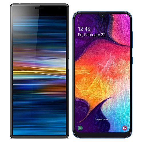 Smartphonevergleich: Sony xperia 10 plus oder Samsung galaxy a50