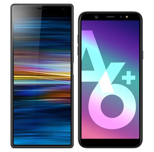 Smartphonevergleich: Sony xperia 10 plus oder Samsung galaxy a6 plus