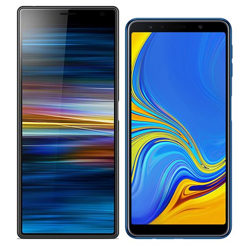 Smartphonevergleich: Sony xperia 10 plus oder Samsung galaxy a7 2018