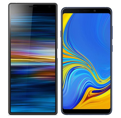 Smartphonevergleich: Sony xperia 10 plus oder Samsung galaxy a9