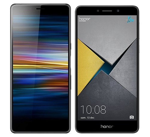 Smartphonevergleich: Sony xperia l3 oder Honor 6x pro