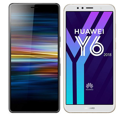 Smartphonevergleich: Sony xperia l3 oder Huawei y6 2018