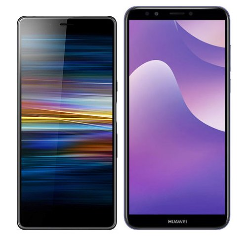 Smartphonevergleich: Sony xperia l3 oder Huawei y7 2018