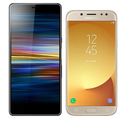 Smartphonevergleich: Sony xperia l3 oder Samsung galaxy j5 duos 2017