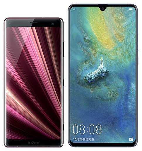 Smartphone Comparison: Sony xperia xz3 vs Huawei mate 20 x