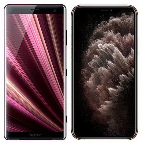 Smartphone Comparison: Sony xperia xz3 vs Iphone 11 pro max