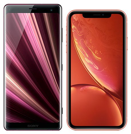 Smartphone Comparison: Sony xperia xz3 vs Iphone xr