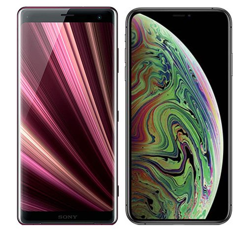 Smartphone Comparison: Sony xperia xz3 vs Iphone xs max