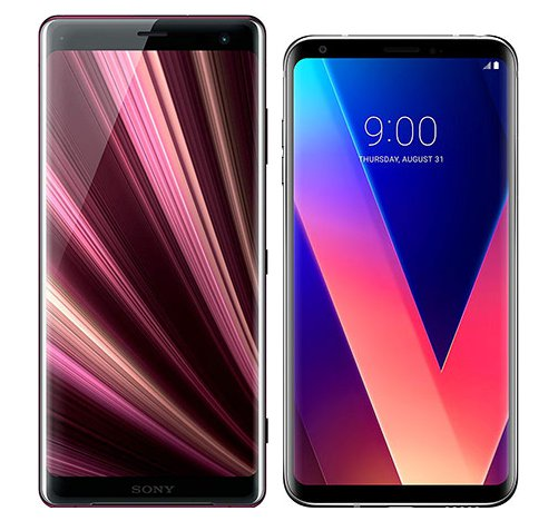 Smartphone Comparison: Sony xperia xz3 vs Lg v30