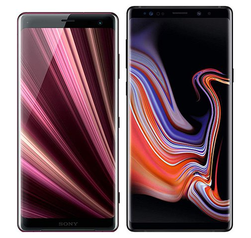 Smartphone Comparison: Sony xperia xz3 vs Samsung galaxy note 9