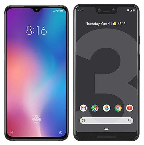 Smartphone Comparison: Xiaomi mi 9 vs Google pixel 3 xl