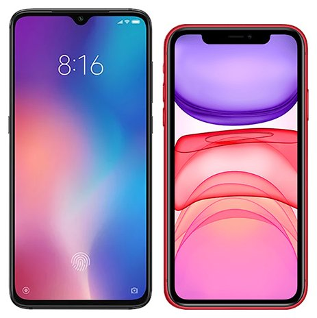 Smartphone Comparison: Xiaomi mi 9 vs Iphone 11