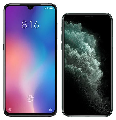 Smartphone Comparison: Xiaomi mi 9 vs Iphone 11 pro