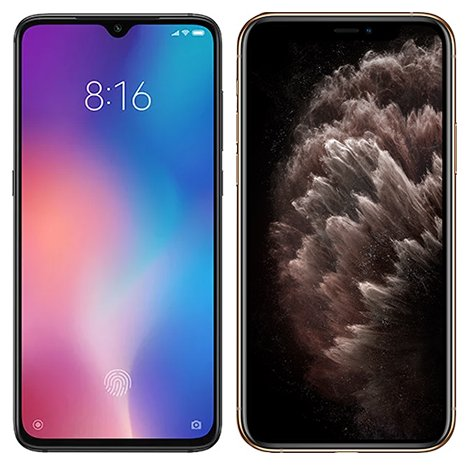 Smartphone Comparison: Xiaomi mi 9 vs Iphone 11 pro max