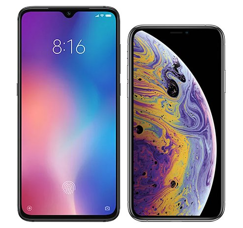 Smartphone Comparison: Xiaomi mi 9 vs Iphone xs