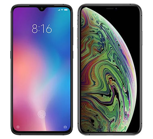 Smartphone Comparison: Xiaomi mi 9 vs Iphone xs max