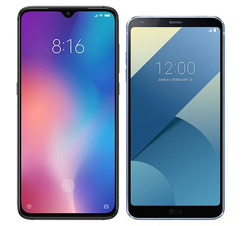 Smartphone Comparison: Xiaomi mi 9 vs Lg g6