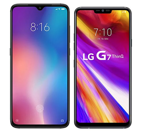 Smartphone Comparison: Xiaomi mi 9 vs Lg g7 thinq