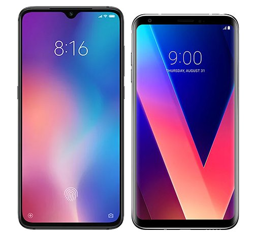 Smartphone Comparison: Xiaomi mi 9 vs Lg v30