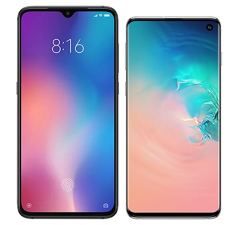 Smartphone Comparison: Xiaomi mi 9 vs Samsung galaxy s10