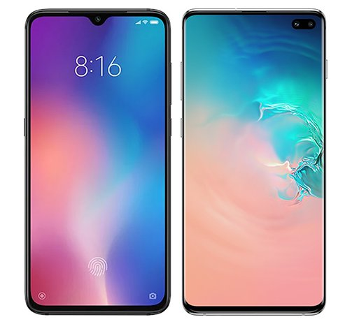 Smartphone Comparison: Xiaomi mi 9 vs Samsung galaxy s10 plus