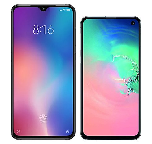 Smartphone Comparison: Xiaomi mi 9 vs Samsung galaxy s10e